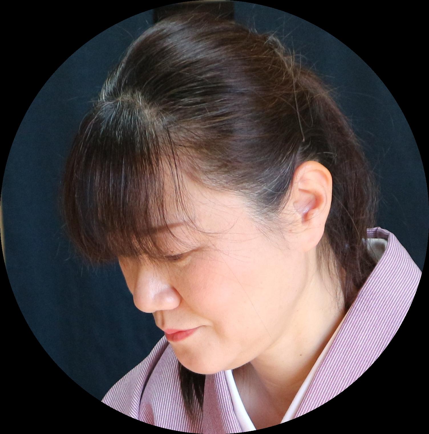 Kaga Yuzen artist portrait